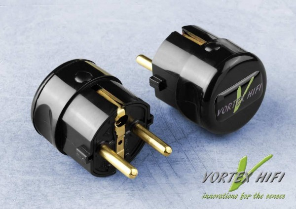 Vortex HiFi | Vortex Nano Shield Power Plug schwarz (P.I.)