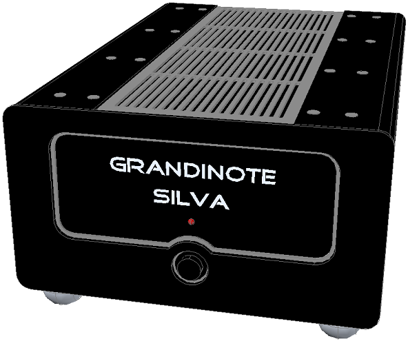 Grandinote | Silva und Araldo Stereo Endstufe - Doppelmono