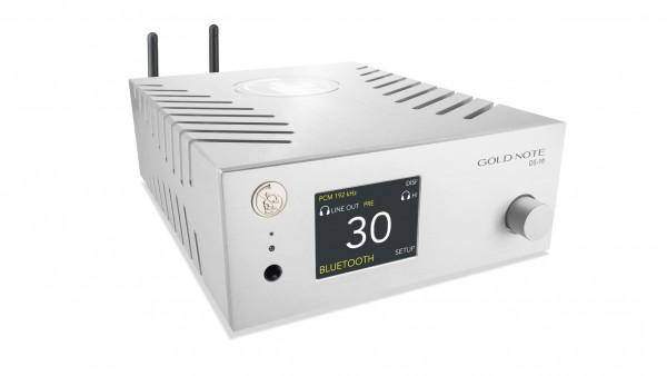 Gold Note | DS-10 DAC - Vorverstärker - Streamer - Kopfhörerverstärker