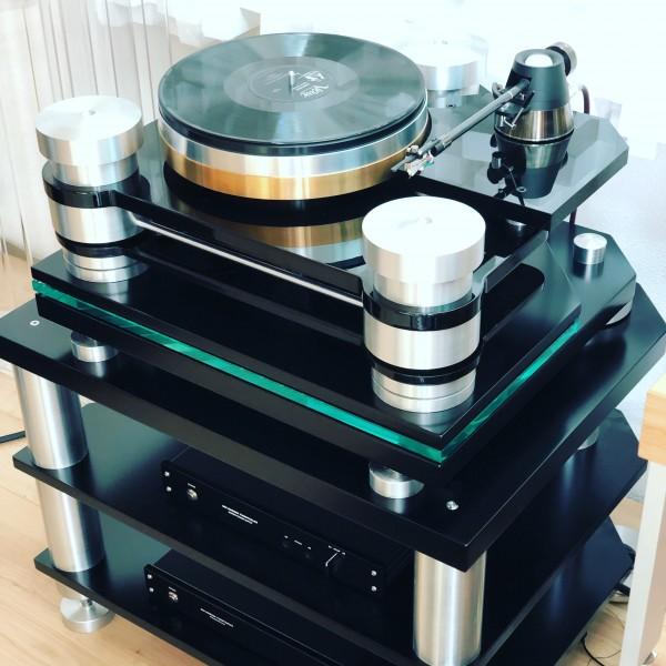 Rui Borges Turntables | Pendulum 2 Schallplatten Laufwerk