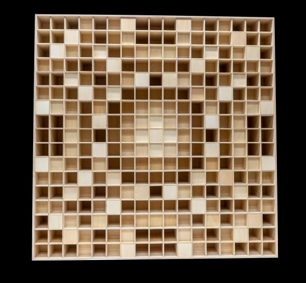 KlangLoft   Akustik Diffuser 2D QRD 17/100×17 BASIC Wood