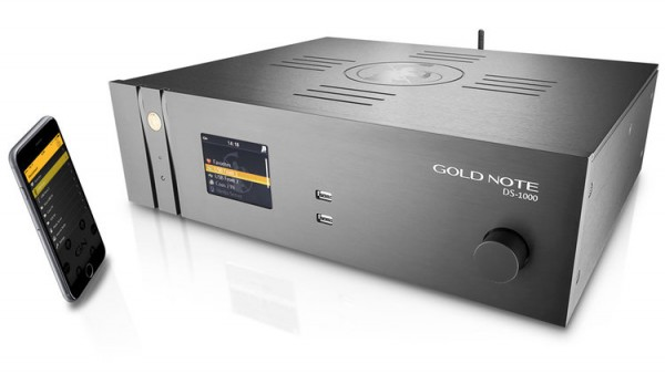 Gold Note | DS-1000 - DAC & Streamer