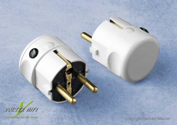 Vortex HiFi | Vortex Nano Shield Power Plug weiß (P.I.)