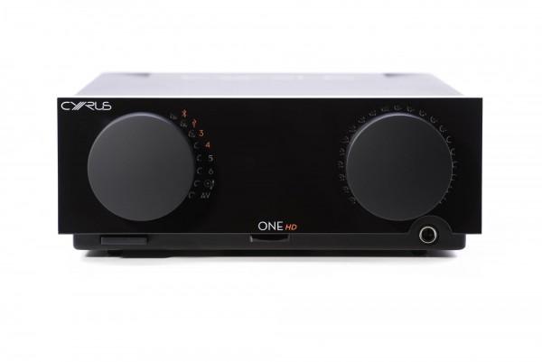 CYRUS Audio | ONE HD Vollverstärker mit DAC im mini Format