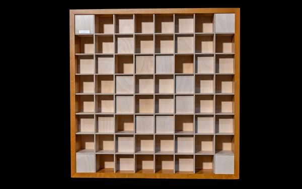 KlangLoft | Akustik Diffuser 2D QRD 7+1/60 Wood