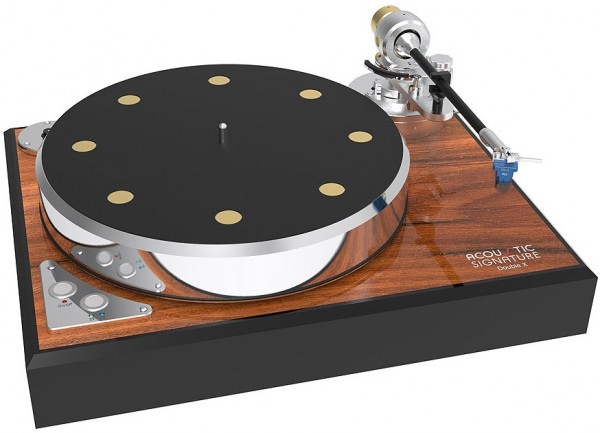Acoustic Signature | DOUBLE X Plattenspieler | Laufwerk