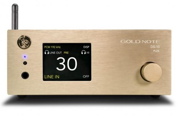 Gold Note | DS-10 Plus DAC - Vorverstärker - Streamer - Kopfhörerverstär