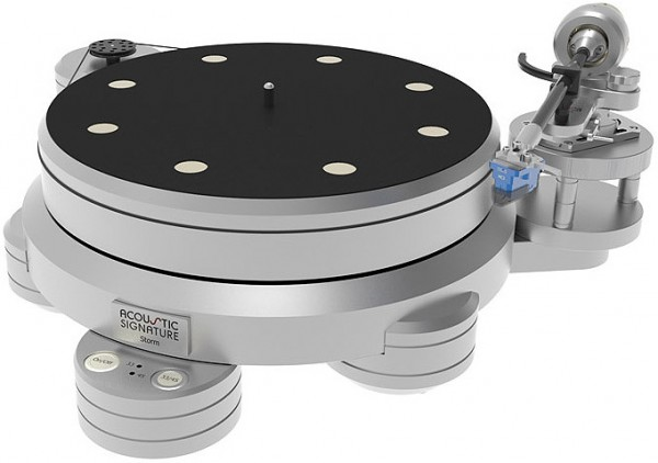 Acoustic Signature | STORM MK2 Plattenspieler | Laufwerk